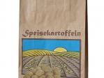 Kartoffeltragetasche-Landschaftsmotiv