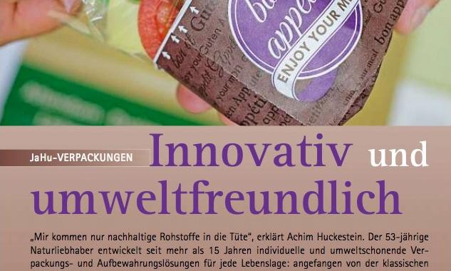 Innovativ und umweltfreundlich (Wirtschaftsreport 09/16)