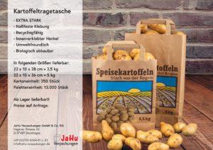 neue Kartoffeltragetasche aus Papier von Jahu Verpackungen